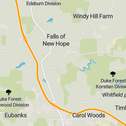 on chapel hill map